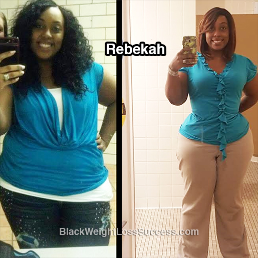 rebekah before and after