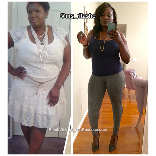 sherita before and after
