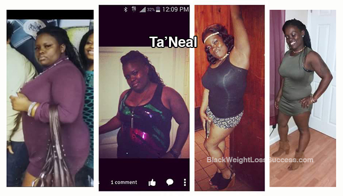 ta'neal weight loss