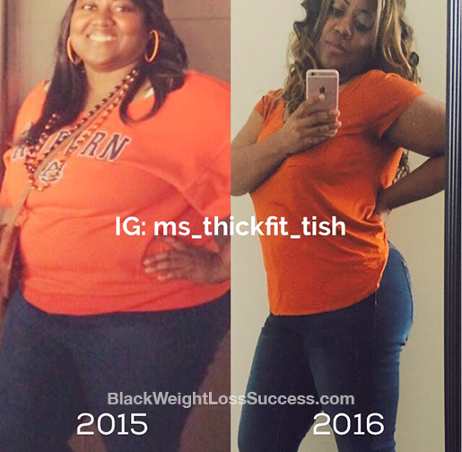 Tish before and after
