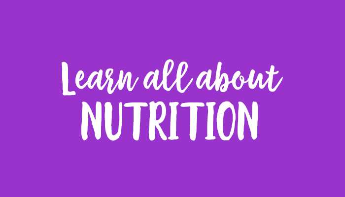 all about nutrition
