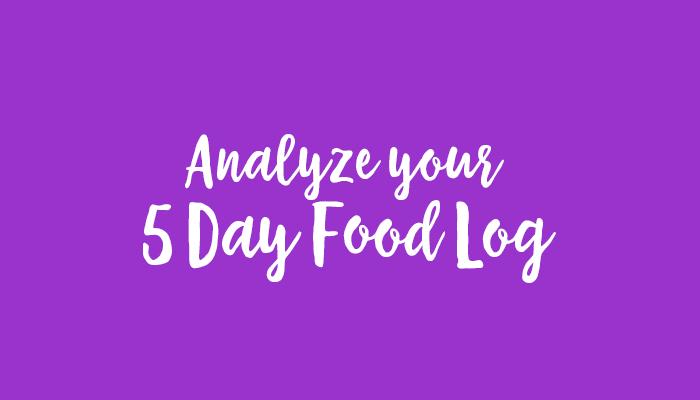 analyze your food log