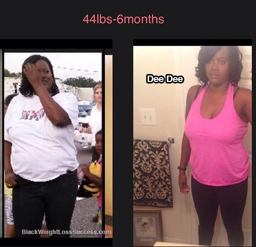 Dee Dee weight loss