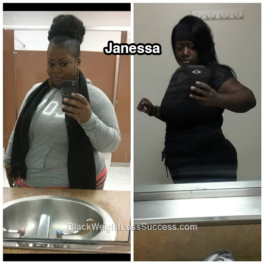 janessa before and after