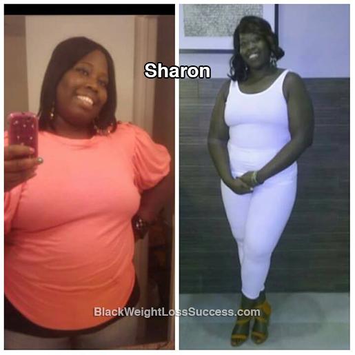 sharon weight loss