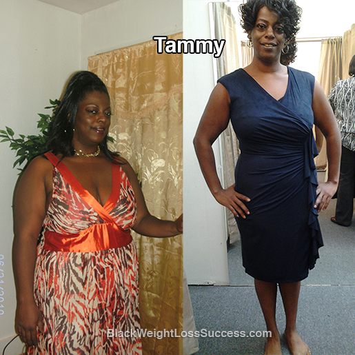 tammy before and after