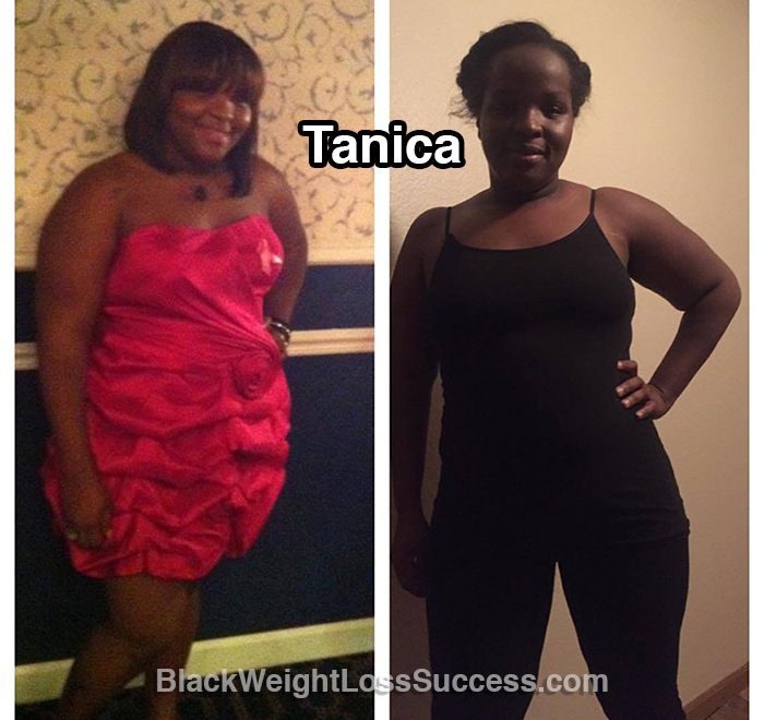 tanica before and after
