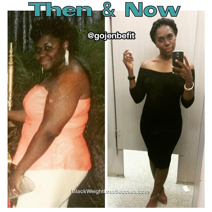 Jen weight loss