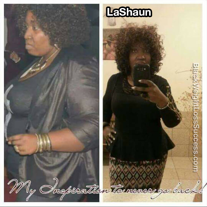 lashaun before and after