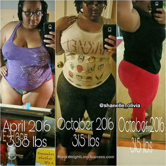 shanelle before and after