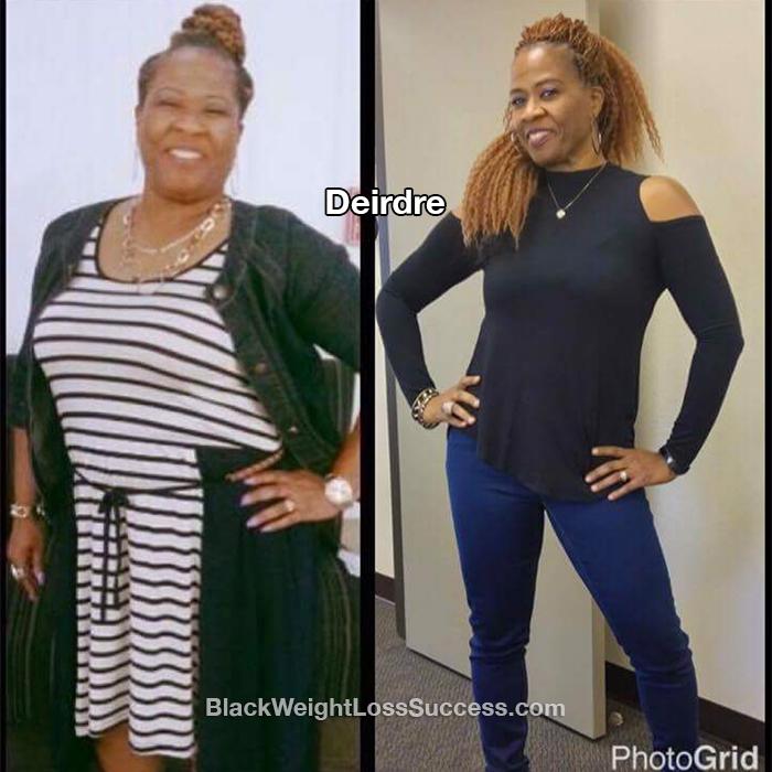 deirdre weight loss
