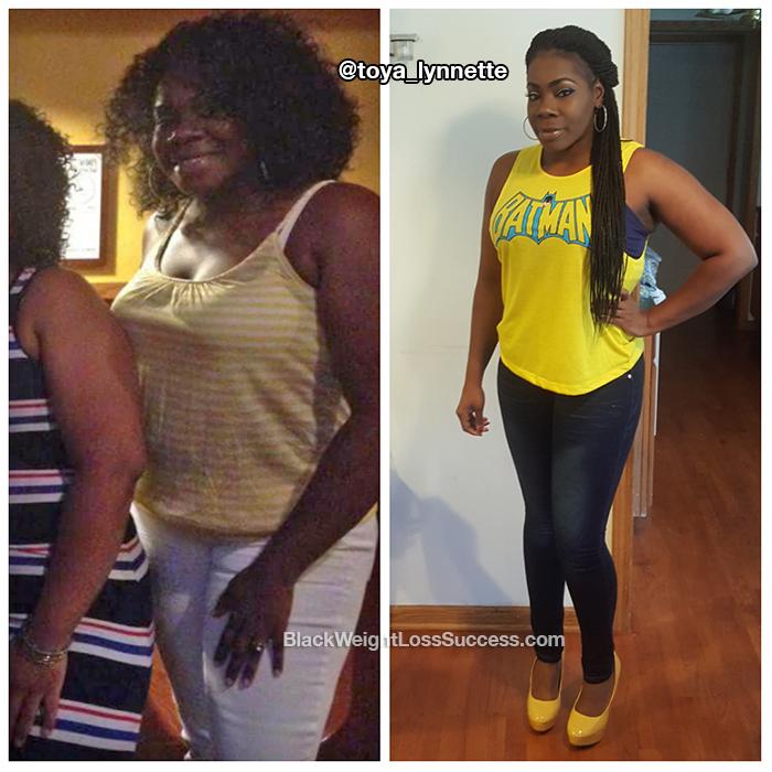 Toya weight loss
