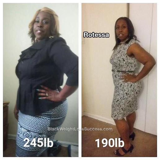 rotessa weight loss