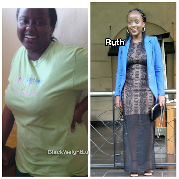 Ruth before and after