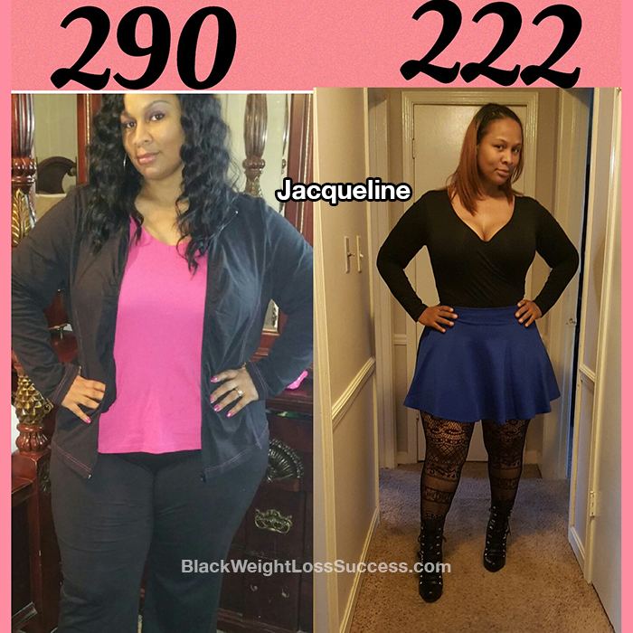 Jacqueline weight loss