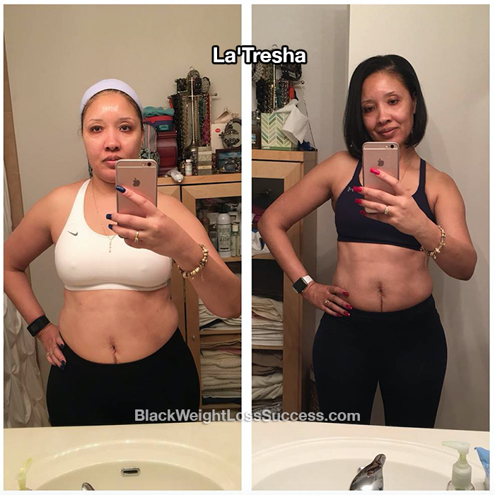 LaTresha weight loss