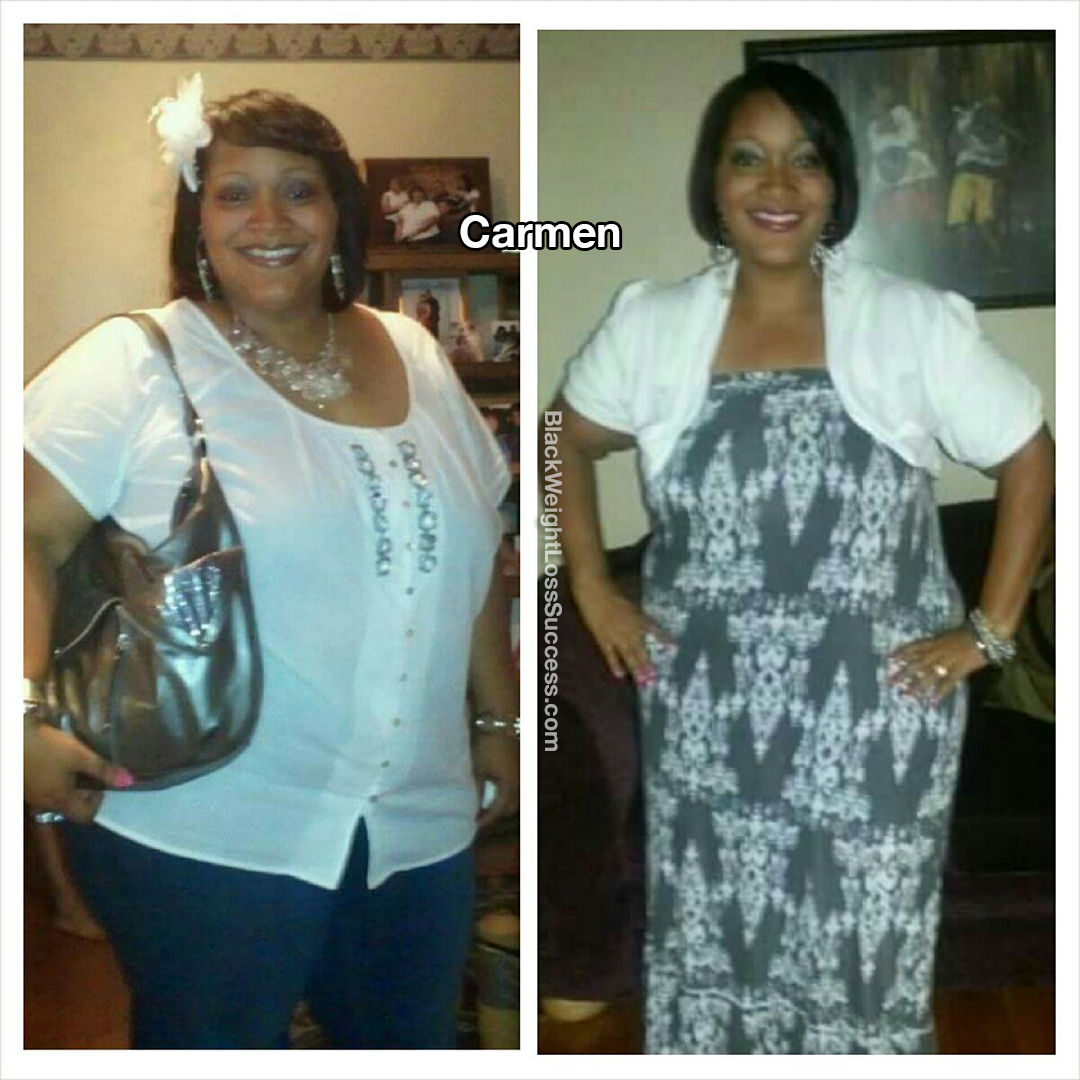 carmen before and after