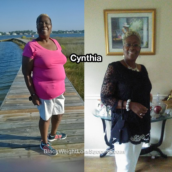 Cynthia weight loss story
