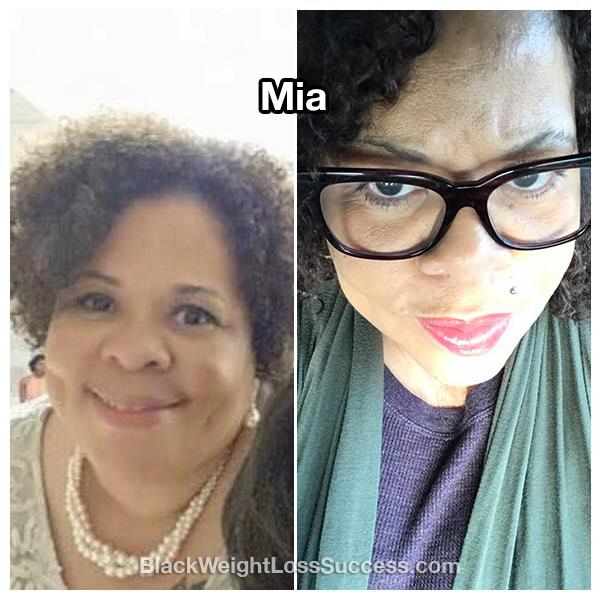 Mia weight loss