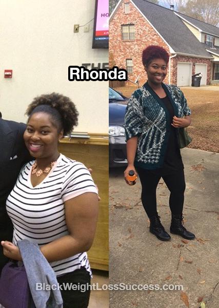 rhonda weight loss