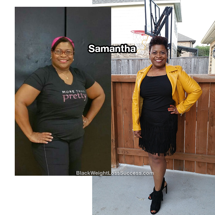samantha before and after