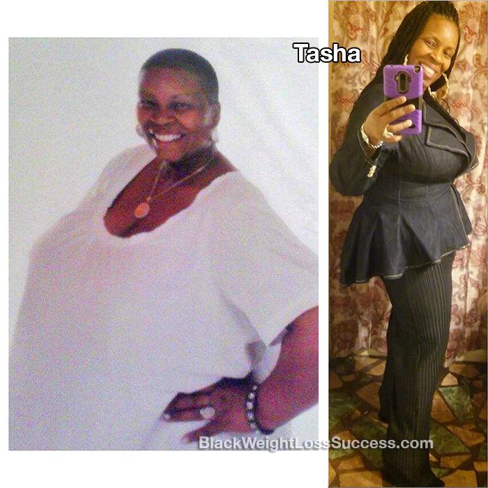 tasha weight loss
