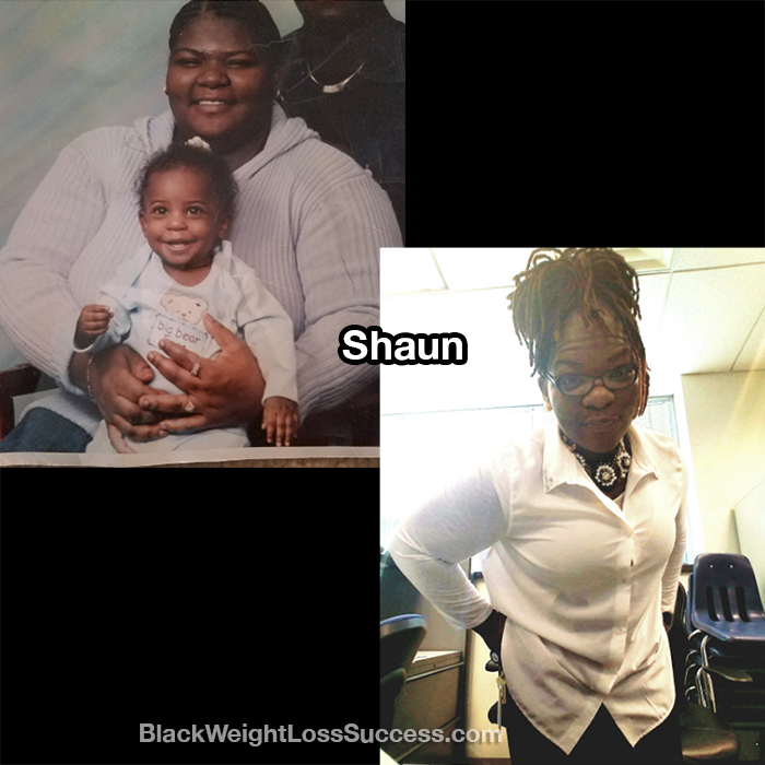 Shaun weight loss