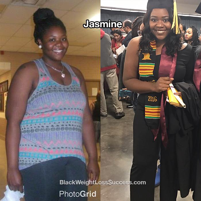 Jasmine weight loss