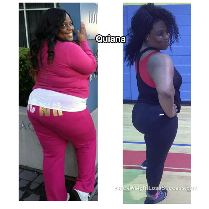 quiana weight loss