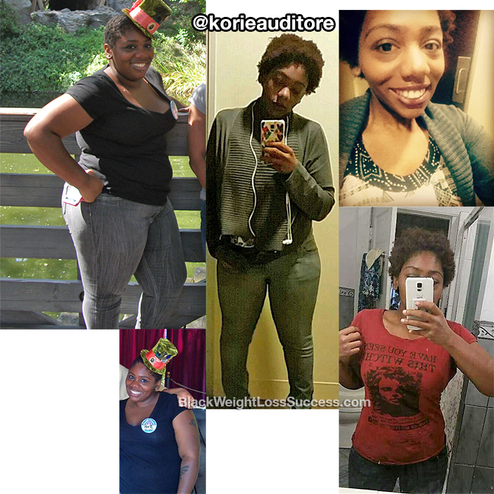 Korie weight loss