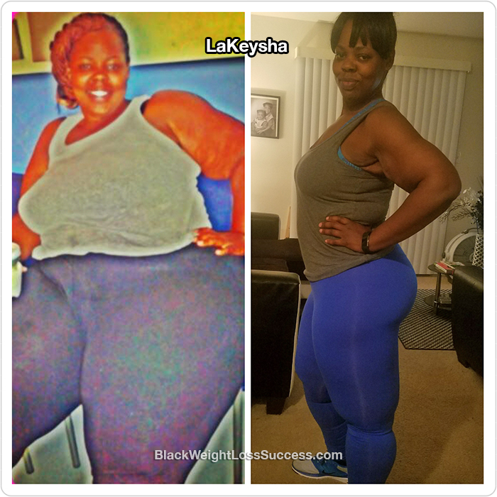 LaKeysha before and after
