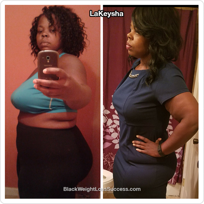 LaKeysha weight loss