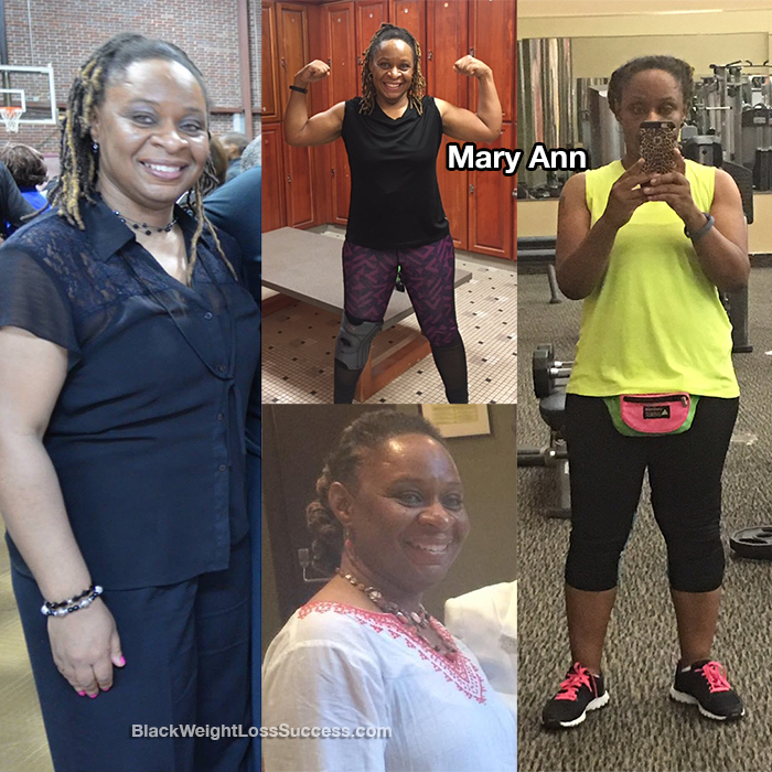 mary ann weight loss