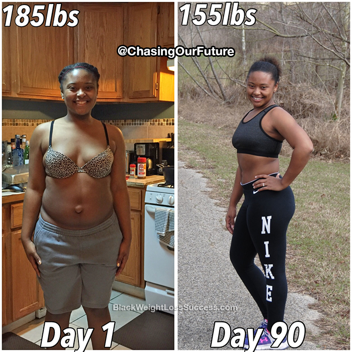 Roxie weight loss