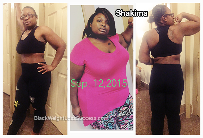 Shakima weight loss