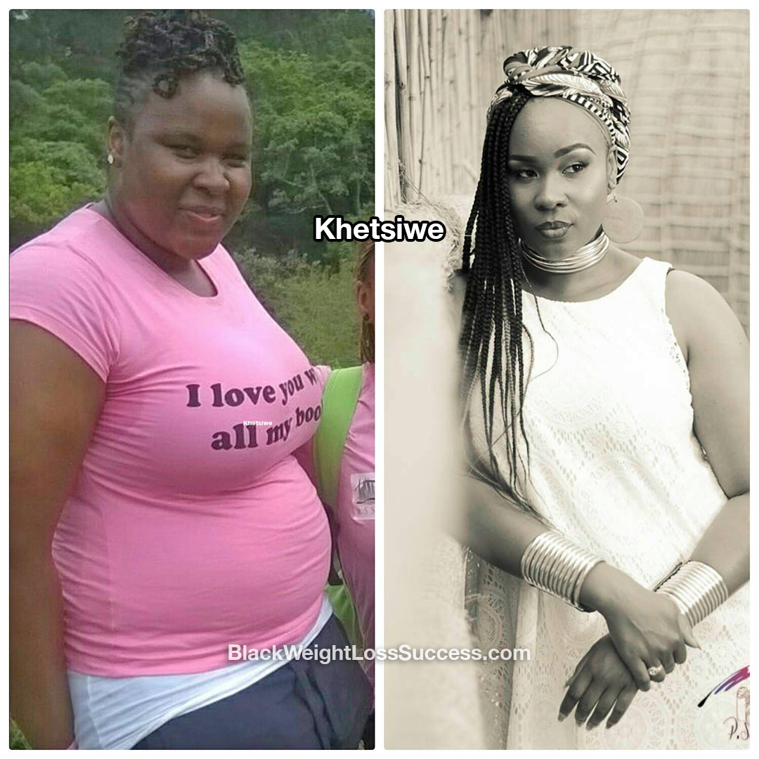 Khetsiwe before and after