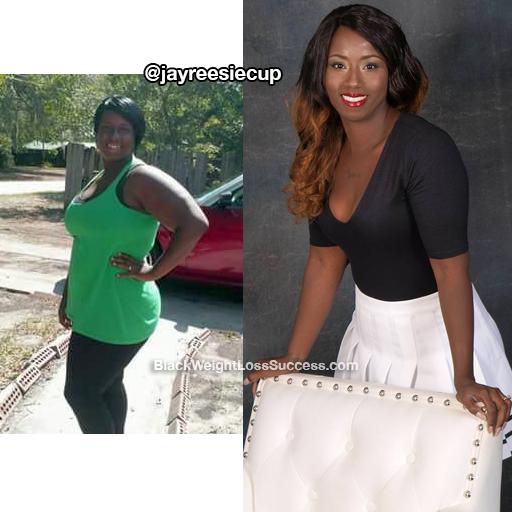 Jenelle lost 113 pounds