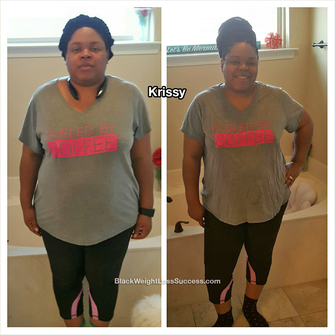 Krissy weight loss