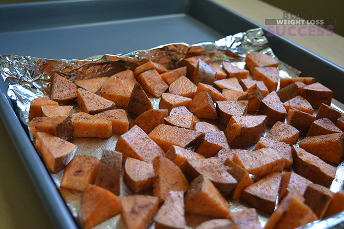meal prep sweet potatoes