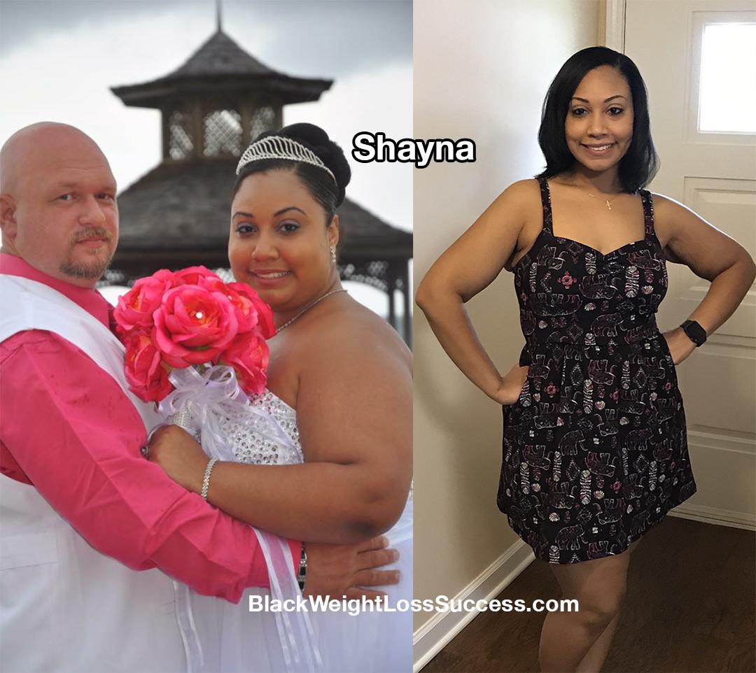 Shayna weight loss