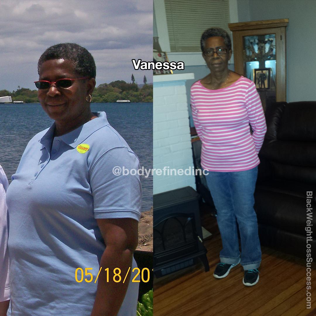 Vanessa lost 56 pounds
