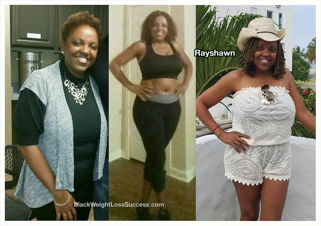 Rayshawn before and after