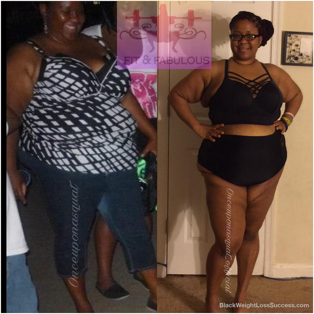 bneika weight loss story