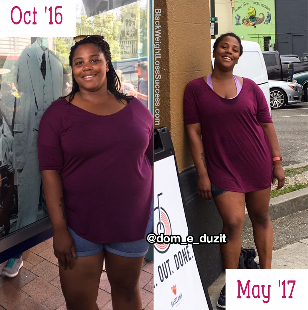 dominique weight loss story