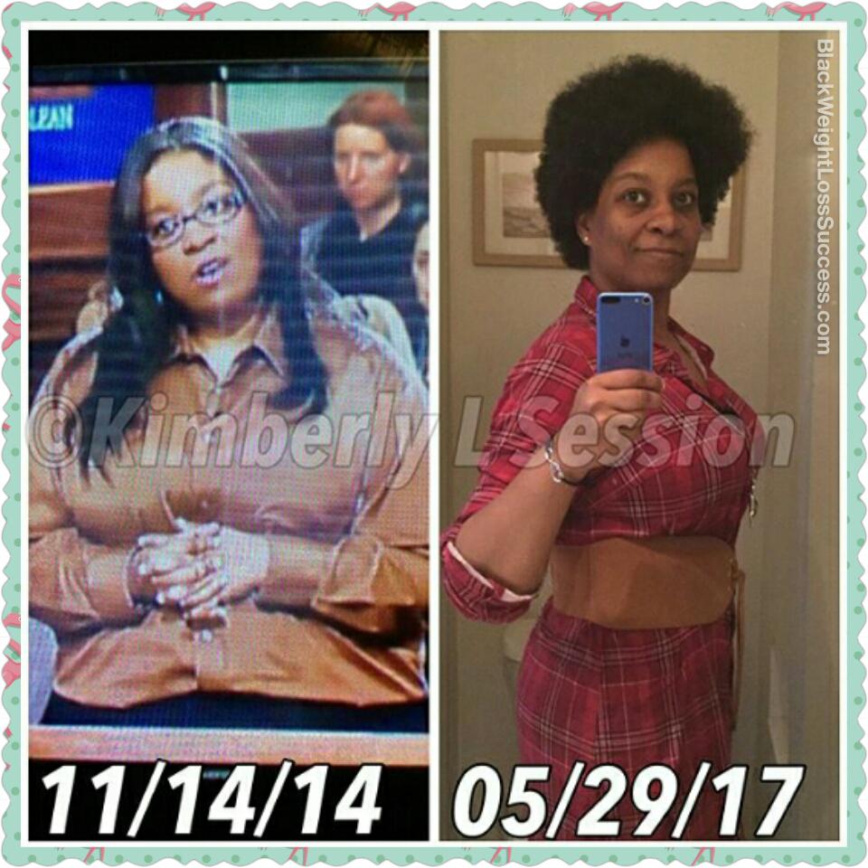 Kimberly lost 161 pounds