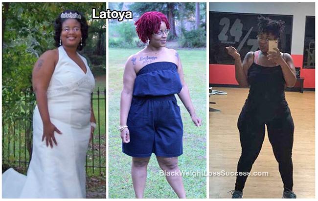 latoya lost 63 pounds