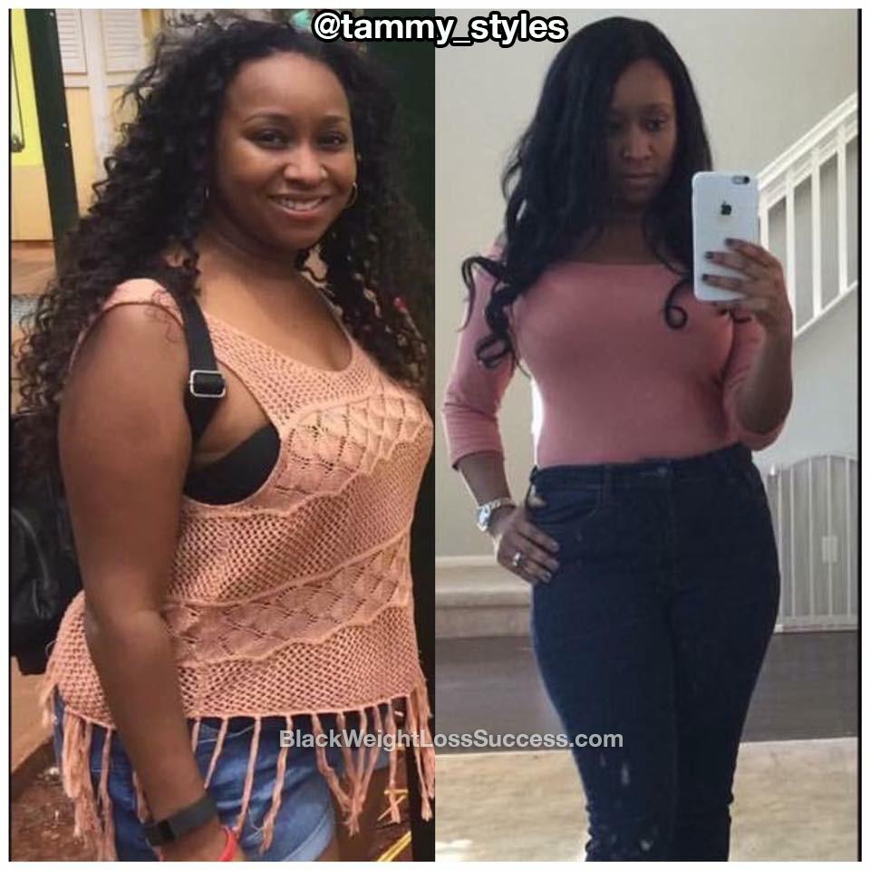 Tammy lost 35 pounds