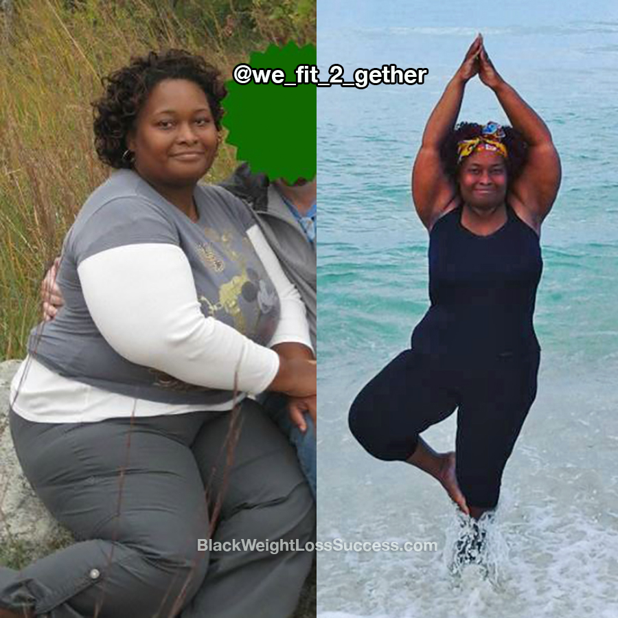 Veronica lost 115 pounds