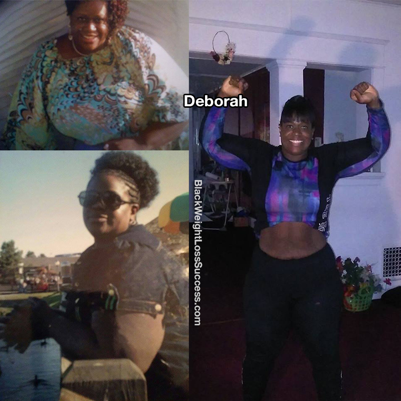 deborah before and after