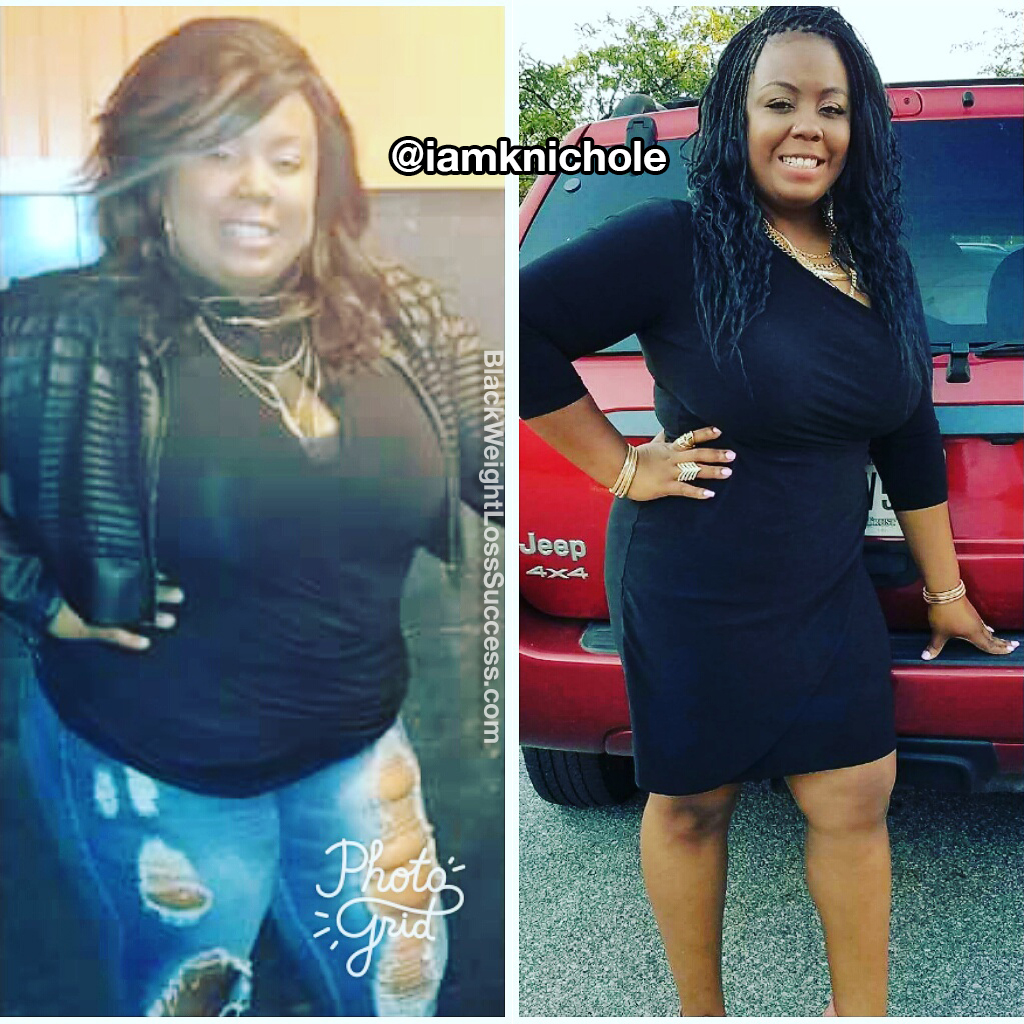 Kandace before and after